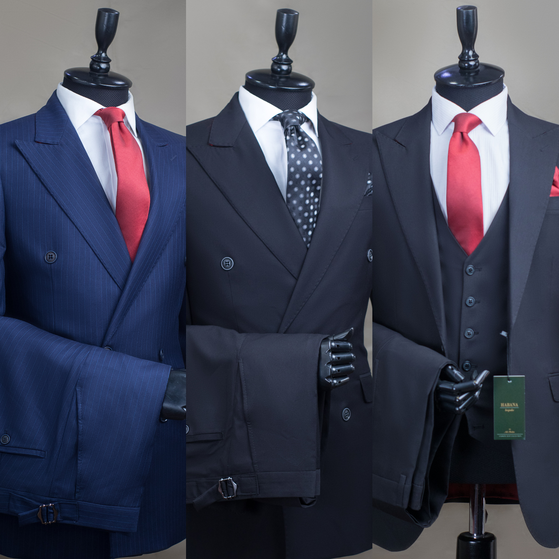 A SUIT IS THE UNIFORM OF SUCCESS AND ELEGANCE