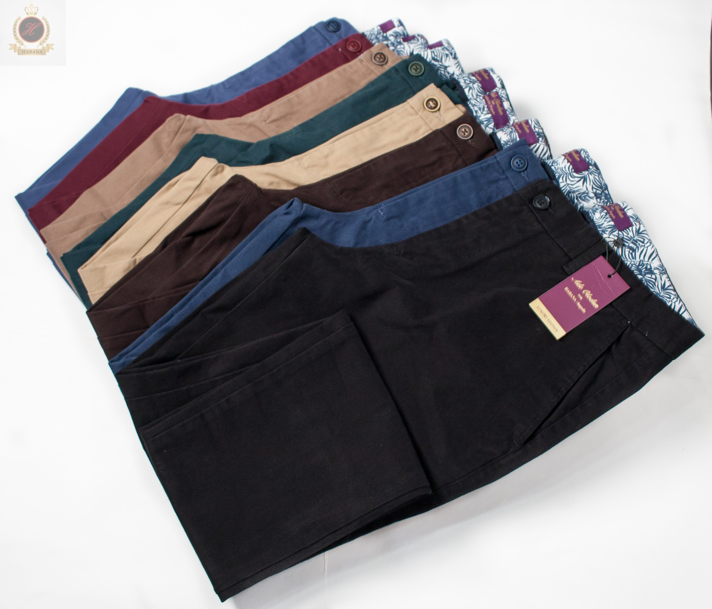 AFFORDABLE LUXURY CHINOS