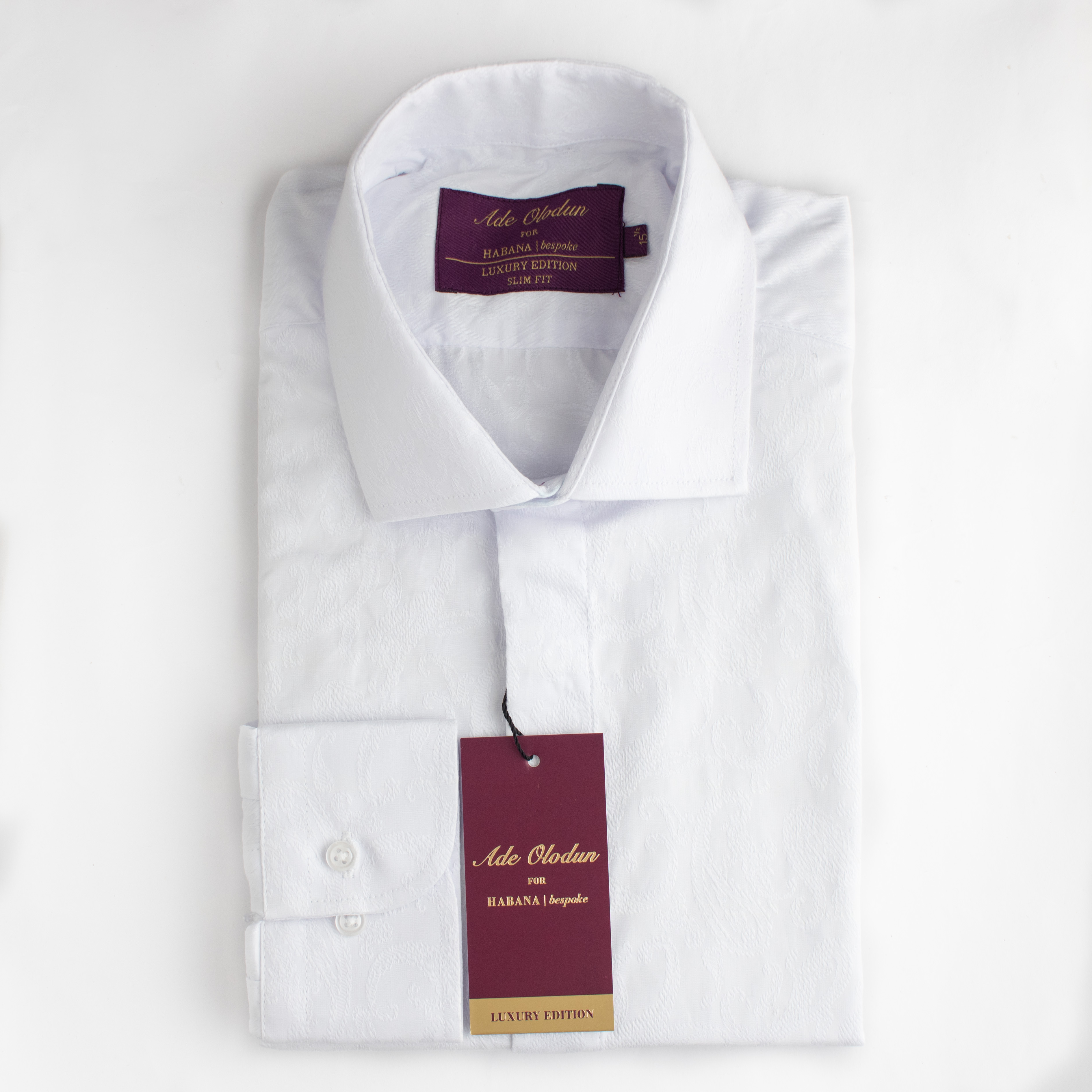 THERE IS NO GARMENT MORE DEPENDABLE THAN A CRISP WHITE SHIRT